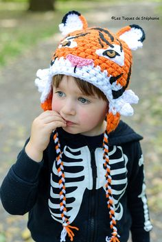 Ravelry: Tiger hat pattern by Les Tuques De Stephanie