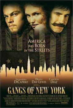 Gangs of New York -- Leonardo DiCaprio, Cameron Diaz, and Daniel Day- Lewis star in this tale of vengeance and survival! As waves of immigrants swell the population of New York, corruption thrives in lower Manhattan's Five Points section. Young Irish immigrant Amsterdam returns seeking revenge against the rival gang leader who killed his father. But Amsterdam's personal vendetta becomes part of the gang warfare.