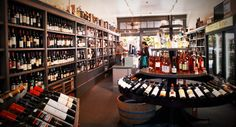 The calm before the holiday wine-shopping storm at PlumpJack Wine & Spirits Noe Valley