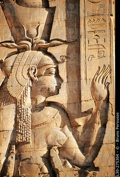 Horus Temple in Edfu. Egypt