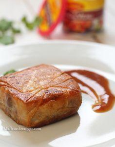 Il y a quelques jours, j'ai reçu de la part de Requia un fond de veau MAGGI® pour participer au concours lancé par les Astucieuses. J'ai fait donc une pastilla farcie à un émietté de viande façon parmentier avec un écrasé de potiron aux quatres épices,...