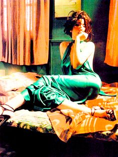 Gong Li photographed by Wong Kar-Wai for Vogue Paris, 2001.