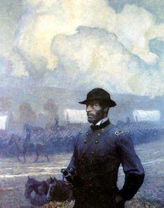 Sherman by  N.C. Wyeth