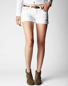 Womens Shorts | Cut Off Jeans at TRUE RELIGION
