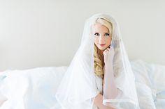 #Gorgeous #Bride getting ready for wedding. #beautiful #blonde #makeup #wedding #love #bridal #curlyhair #hair #veil