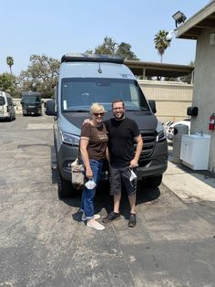 Sam & Lizabeth, congratulations on your new 2021 WINNEBAGO REVEL!  Thank you again for the opportunity to earn your business, Conejo RV and The Conejo Rv Team. Rvs For Sale, Southern California, Motorhome, 20 Years, Opportunity, Congratulations, Boat, Business, Dinghy