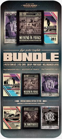 Indiependent Sound Cd cover template, Template and Print templates - retro flyer templates