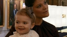 Prinses Victoria en prinses Estelle