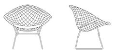 Bertoia Child Diamond Chair | Knoll