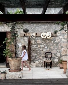 It immediately felt like home in this beautiful house surrounded by nature. Look forward to lazy days here 💫 Rustic Chic, Natural Materials, Earthy, Beautiful Homes, Patio, Garden, Instagram Posts, Outdoor Decor, Nature