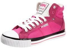 British Knights DEE Hightop trainers pink on shopstyle.co.uk