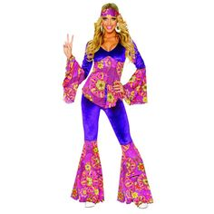 Purple Power Womens Costume. #hippie http://www.costumebox.com.au/adult-costumes/new-arrivals-adult-costumes/purple-power-womens-costume.html