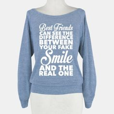 Best Friends Know The Real Smile #bff #friends