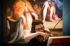 Risuonano note del violino tra i capolavori del Seicento e del Settecento della collezione permanente