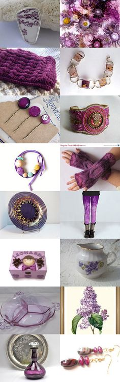 Shades of Purple by Olga on Etsy--Pinned with TreasuryPin.com  Gorgeous Treasury! Thanks so much! Faved,Tweeted,Pinned,Liked, and pclicked