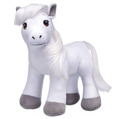 With intelligence, grace and strength, the Horses & Hearts Riding Club Grey Arabian Plush is known for being an excellent breed for riding & competing. Barbie Horse, Barbie Doll, Barbie Chelsea Doll, Plush Horse, Build A Bear, Dinosaur Stuffed Animal, Stuffed Animals, Little Pony, Drake