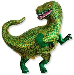 The ultimate Dinosaur Party accessory - Super Size balloons at www.theoriginalpartybagcompany.co.uk