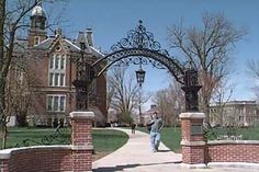 The Arch at DePauw University, Greencastle IN. My Alma Mater.