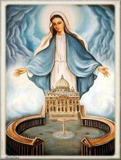 Santa María, Madre de Dios y Madre nuestra: Florecillas a María, 4 de Mayo