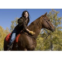 Horseback Riding . . .   Having a workout buddy provides motivation and support for those who struggle with exercise. Horseback riding provides some of the same benefits as yoga. Riding tones your lower stomach muscles and helps with breathing, balance and control.