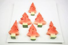 Watermelon Christmas tree