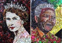 Resultado de imagen para collage con papel de colores