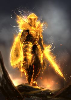 Soldier of the Sun / Golden Phantom by Mac-tire on DeviantArt