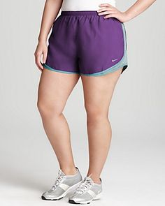 plus size women's nike 'tempo' track shorts (online only) | track