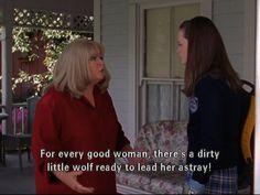But I should point out that that is from a completely different episode, the picture is from That Damn Donna Donna Reed Show, while the quote is from The Breakup Part 2 Luke And Lorelai, Lorelai Gilmore, Team Logan, Gilmore Girls Quotes, Donna Reed, Lauren Graham, Best Friends For Life, Tv Quotes, Ex Boyfriend