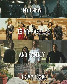 Family is my code  - Fast and Furious (@fast.pics)