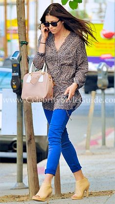 Jessica Biel Style and Fashion - Heartloom Cameron Tunic on Celebrity Style Guide