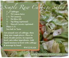 Image result for raw vegan salad cabbage cousens