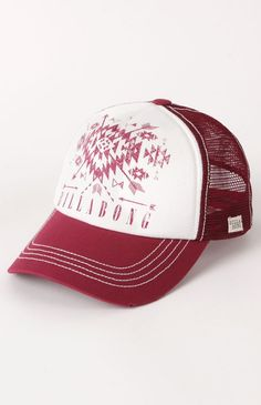 Click Image Above To Purchase: Womens Billabong Hat - Billabong Do It Again Trucker Hat