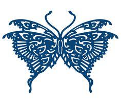 D145 Tattered Lace - Oriental Butterfly