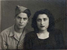 Greek soldier and girlfriend in Pireaus. (1940)
