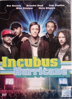 INCUBUS Live In Concert Hurricane Festival 2011 Germany DVD NTSC PAL Region All