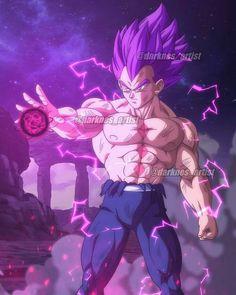 Dragon Ball Z, Dragon Ball Image, Super Vegeta, Video Game Characters, Dark Fantasy Art, Cartoon Art, Manga, Anime Art, Artwork