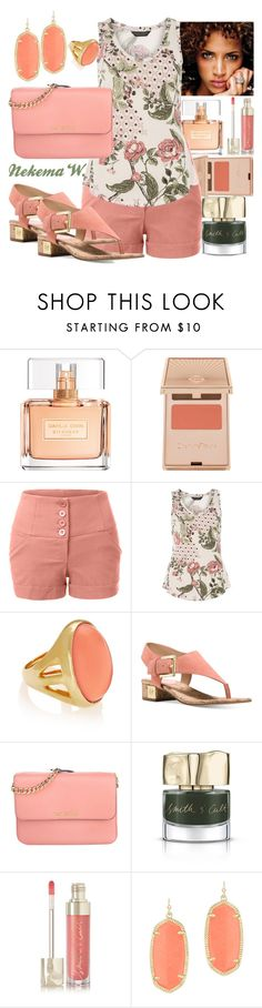 """Saturday Wear💇💅"" by sexyshonda ❤ liked on Polyvore featuring Givenchy, Charlotte Tilbury, LE3NO, Dorothy Perkins, Kenneth Jay Lane, Michael Kors, Smith & Cult and Kendra Scott"