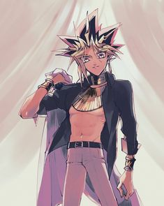Yu Gi Oh, Hot Anime Guys, Anime Love, Atem Yugioh, Anime People, Pretty Men, Anime Ships, Handsome Boys, Card Games