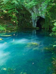 Krupajsko Vrelo blue karstic spring in eastern Serbia (by milosradulovic). Serbia is magical. Watch out for vili. Oh The Places You'll Go, Places To Travel, Beautiful World, Beautiful Places, Nature Aesthetic, Gaia, Aesthetic Pictures, Beautiful Landscapes, Wonders Of The World