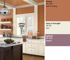 Benjamin Moore Aura Paint   Colour Combos For My Kitchen