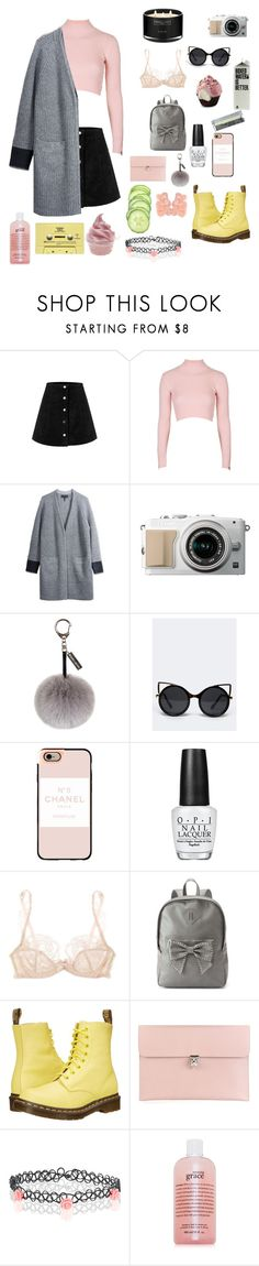 """Because you know I'm all about that bass"" by bossbby11 ❤ liked on Polyvore featuring Topshop, rag & bone/JEAN, Helen Moore, ZooShoo, Casetify, OPI, Agent Provocateur, Candie's, Dr. Martens and Alexander McQueen"