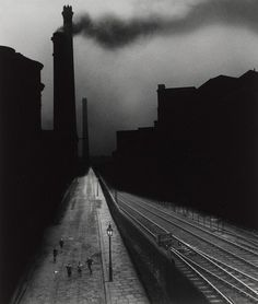 Bill Brandt. Halifax. 1937  (pinner's note: this image is taken from the top of the image called 'a snicket in halifax')