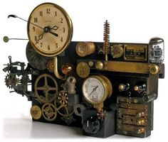 very cool steampunk