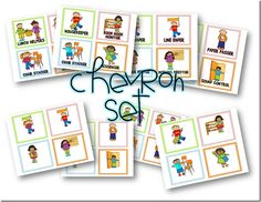 classroom job display cards (free and editable!)