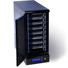 One of the more interesting systems is utilizing a portable hard drive that provides wireless storage that can operate from using a WiFi signal in the home or business. Click Here: http://networkstoredevice.net/wireless-network-attached-storage/