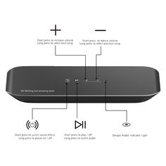 S8 Wireless Speaker Stereo Sound Deep Bass 2600mAh - US$59.99 Sales Online black - Tomtop Wireless Speakers, Bluetooth, Usb Drive, Bass, Tech, Music, Free, Design, Blue Tooth