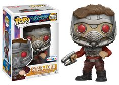 Guardians of the Galaxy Vol. 2: action pose Masked Star-Lord Pop figure by Funko, TRU exclusive
