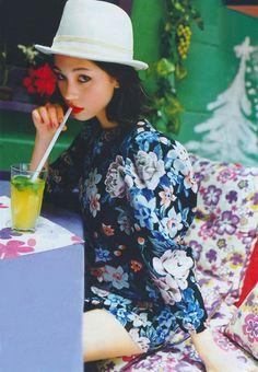 Kiko Mizuhara for Sweet Magazine