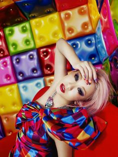 Koda Kumi - promo for new cover album 2013